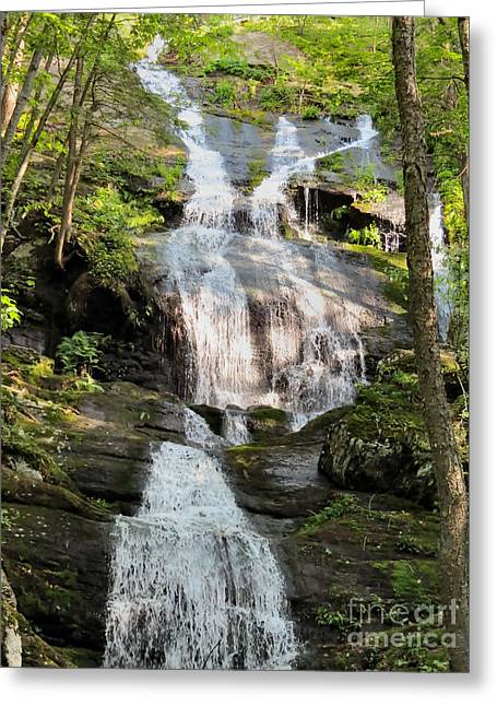Best Sellers -  - Buttermilk Falls Greeting Cards - ButterMilk Falls NJ Greeting Card by Michelle Milano