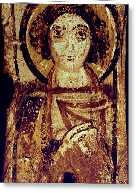 Icon Byzantine Photographs Greeting Cards - Byzantine Icon Greeting Card by Granger