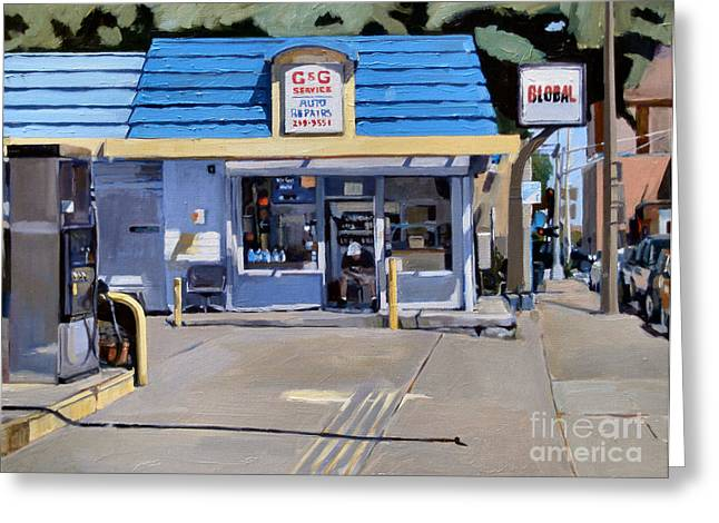 South Boston Greeting Cards Greeting Cards - C and G Greeting Card by Deb Putnam