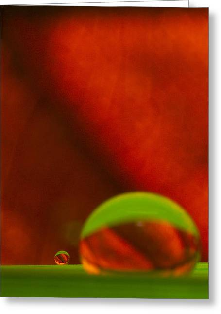 C Ribet Orbscape Le Petit Greeting Card by C Ribet