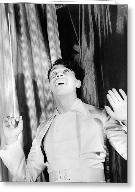 Van Vechten Greeting Cards - Cab Calloway (1907-1994) Greeting Card by Granger