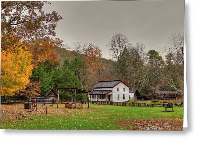 Cable Mill House Greeting Card by Charles Warren