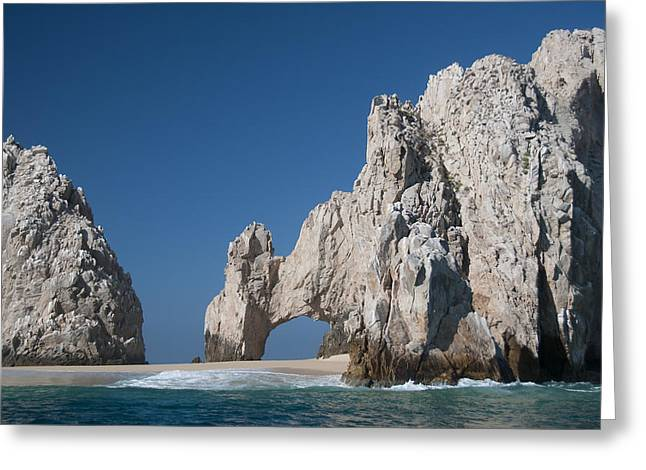 Los Arcos Greeting Cards - Cabo Greeting Card by Christian Heeb