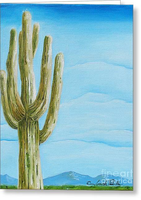Joseph Palotas Greeting Cards - Cactus Jack Greeting Card by Joseph Palotas