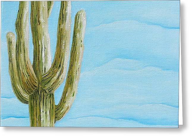 Cactus Jack Greeting Card by Joseph Palotas