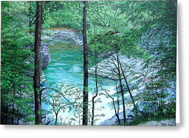 Recently Sold -  - Gatlinburg Tennessee Greeting Cards - Cades Cove Greeting Card by Mike Ivey
