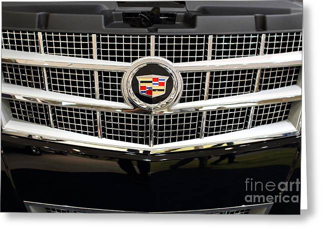 Caddy Greeting Cards - Cadillac . 7D9524 Greeting Card by Wingsdomain Art and Photography