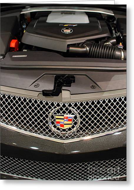 Caddy Greeting Cards - Cadillac . 7D9554 Greeting Card by Wingsdomain Art and Photography