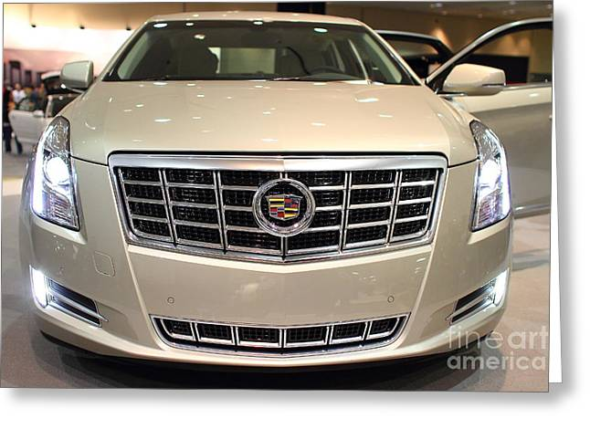 Cadillac . 7D9560 Greeting Card by Wingsdomain Art and Photography