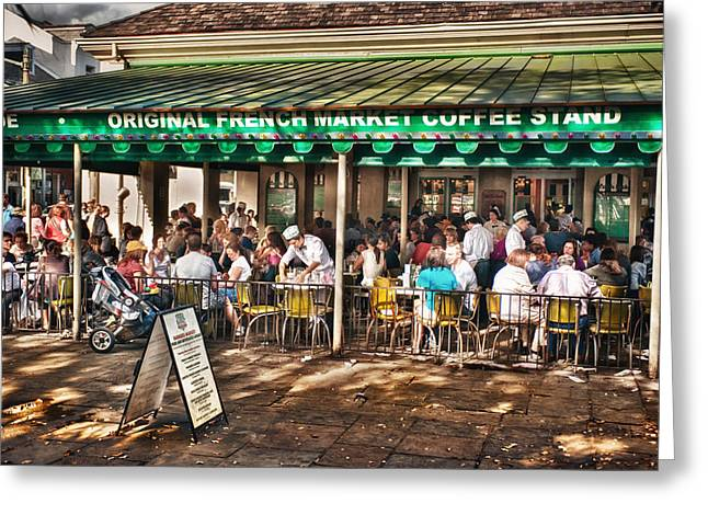 Brenda Bryant Photographs Greeting Cards - Cafe Du Monde Greeting Card by Brenda Bryant
