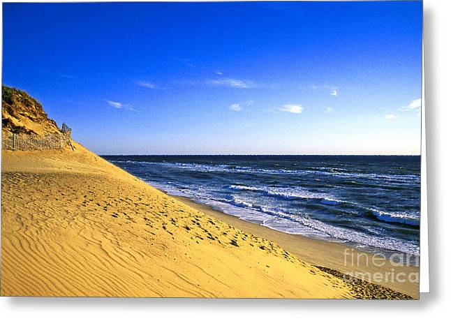 Cape Cod National Seashore Greeting Cards - Cahoon Beach Greeting Card by John Greim