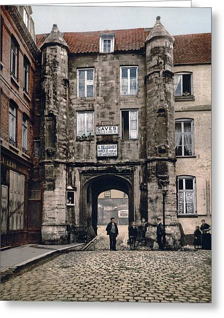 Guise Greeting Cards - Calais - France - Hotel des Guises Greeting Card by International  Images