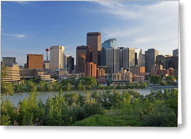 Calgary, Alberta, Canada Greeting Card by Philippe Widling