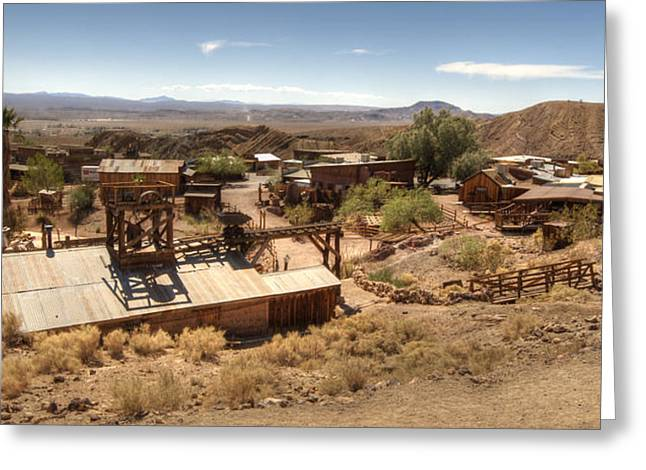 Yermo Greeting Cards - Calico Ghost Town 2 Greeting Card by Jessica Velasco