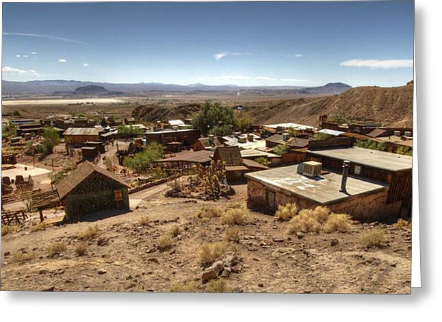 Yermo Greeting Cards - Calico Ghost Town 3 Greeting Card by Jessica Velasco
