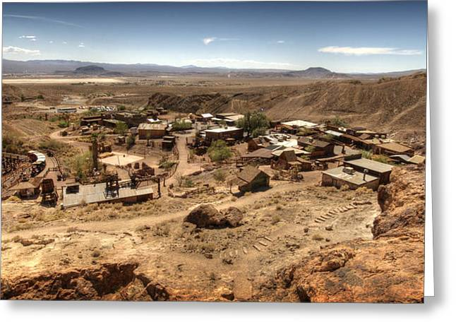 Yermo Greeting Cards - Calico Ghost Town 4 Greeting Card by Jessica Velasco