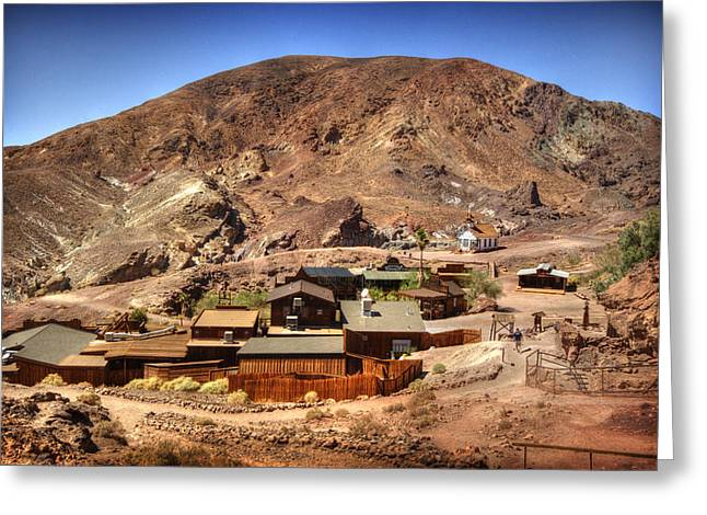 Yermo Greeting Cards - Calico Ghost Town 5 Greeting Card by Jessica Velasco