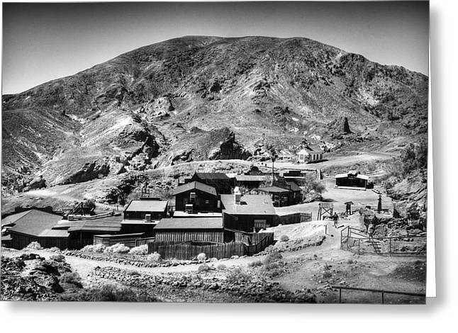 Yermo Greeting Cards - Calico Ghost Town 6 Greeting Card by Jessica Velasco