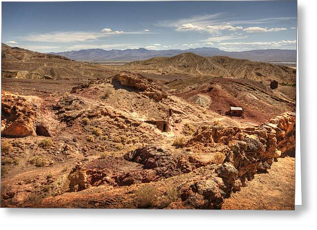 Yermo Greeting Cards - Calico Ghost Town 7 Greeting Card by Jessica Velasco