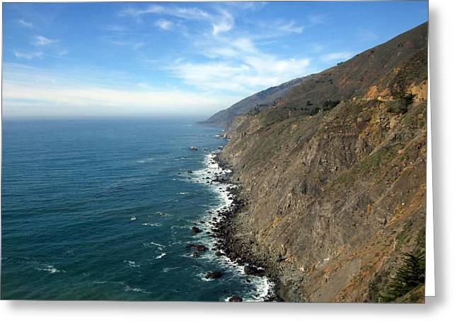 Coast Hwy Ca Greeting Cards - California Coast Greeting Card by Joshua Benk