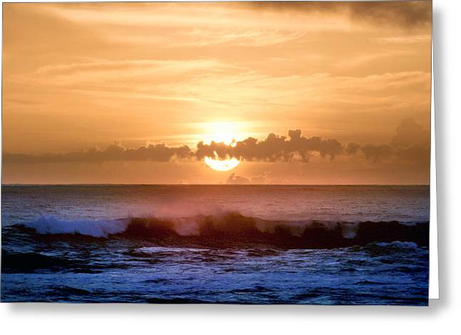 Coast Highway One Greeting Cards - California Coast Sunset Greeting Card by Michael Rock