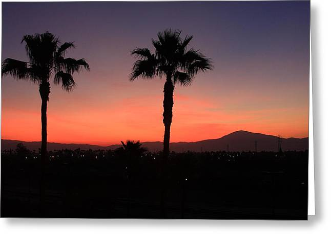 Lyle Hatch Greeting Cards - California Dreamin Greeting Card by Lyle Hatch