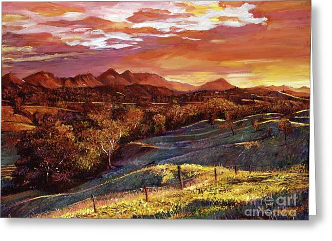 Most Viewed Greeting Cards - California Dreaming Greeting Card by David Lloyd Glover