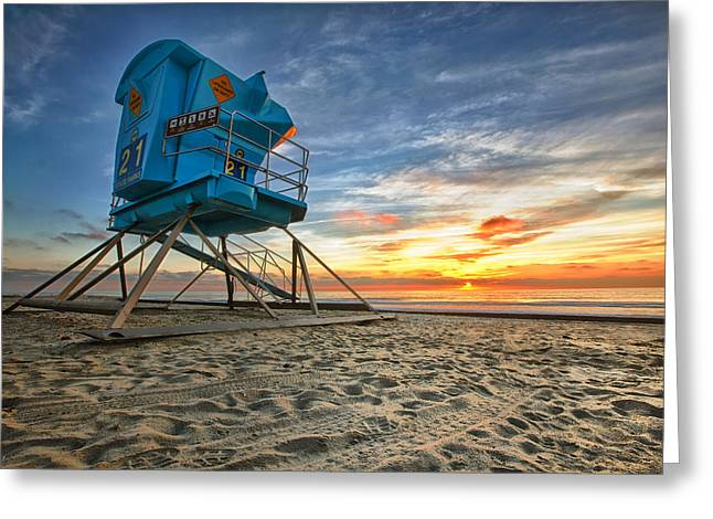 Photo Photography Greeting Cards - California Dreaming Greeting Card by Larry Marshall