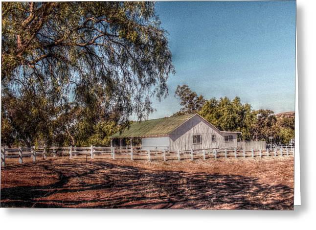 Cindy Nunn Greeting Cards - California Homesteading Greeting Card by Cindy Nunn