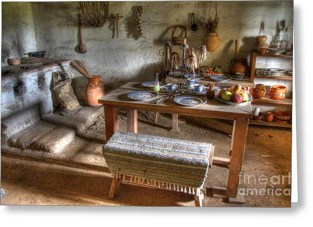 American Heritage Greeting Cards - California Mission La Purisima 4 Greeting Card by Bob Christopher
