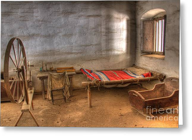 American Heritage Greeting Cards - California Mission La Purisima Greeting Card by Bob Christopher