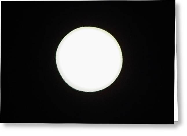 Night Scenes Greeting Cards - California Moon Greeting Card by Elizabeth Hoskinson