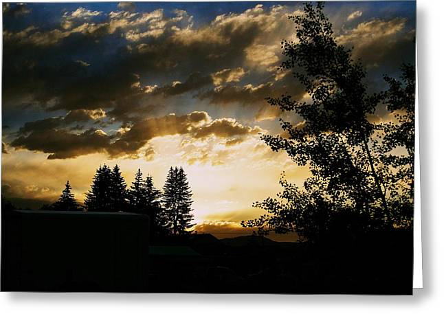 Sunset Framed Prints Greeting Cards - Calling Greeting Card by Kevin Bone