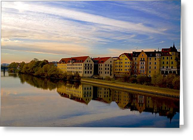 River View Greeting Cards - Calm as Glass Greeting Card by Anthony Citro