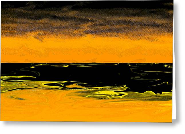 China Beach Greeting Cards - Calm Before the Storm Greeting Card by James David Mancini