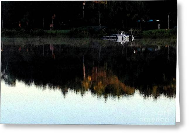 Calm Waters Digital Greeting Cards - Calm Greeting Card by Charlie Spear