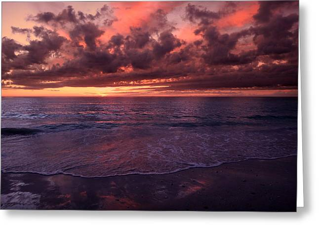 Nature Phots Greeting Cards - Calm Summer Sunset Greeting Card by Jeremy Smith