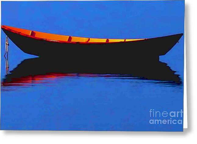 Art Websites Greeting Cards - Calm Bristol Harbor RI Greeting Card by Tom Prendergast