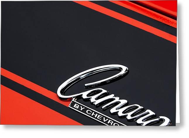 Camaro By Chevrolet Greeting Card by Steven Milner