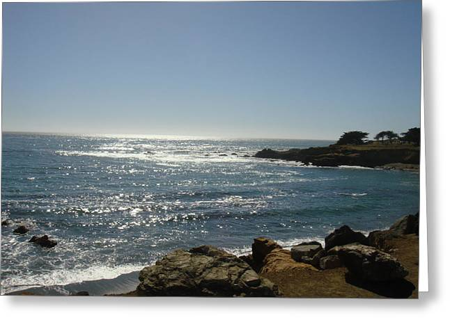 Cambria Greeting Cards - Cambria Coast Greeting Card by Melissa KarVal