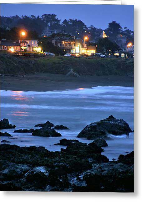 Cambria Greeting Cards - Cambria Greeting Card by Jim Lynch
