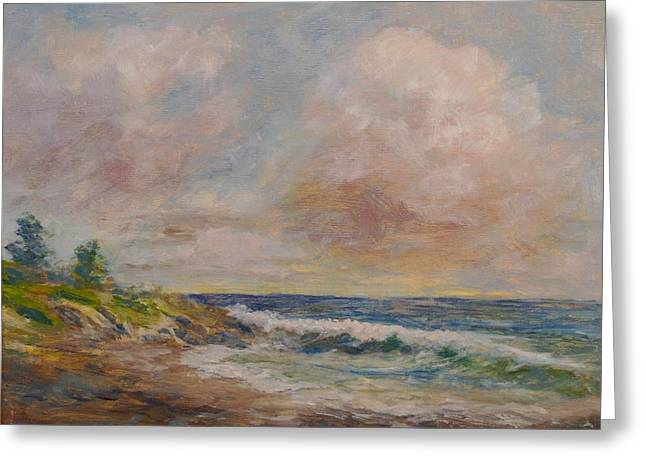 Cambria Greeting Cards - Cambria Shore Greeting Card by Edward White