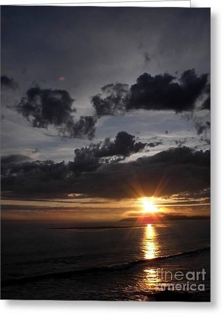Cambria Greeting Cards - Cambria Sunset Greeting Card by Phil Huettner