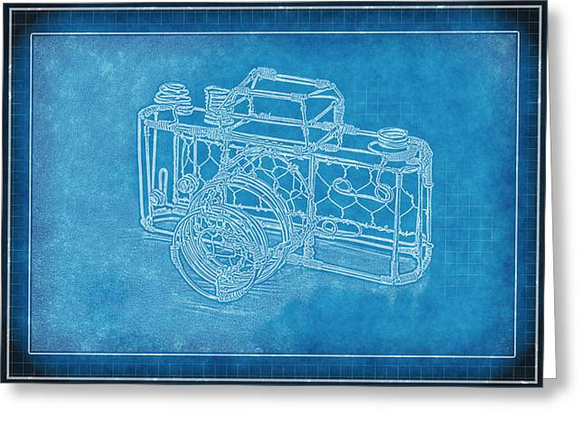 Metal Pyrography Greeting Cards - Camera 1b Greeting Card by Mauro Celotti