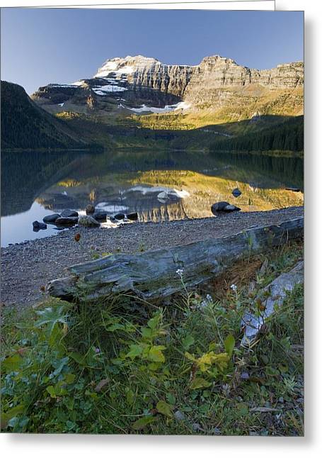 Canadian Prairies Greeting Cards - Cameron Lake, Alberta, Canada Greeting Card by Philippe Widling