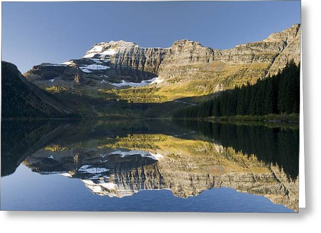 Canadian Prairies Greeting Cards - Cameron Lake, Waterton, Alberta, Canada Greeting Card by Philippe Widling