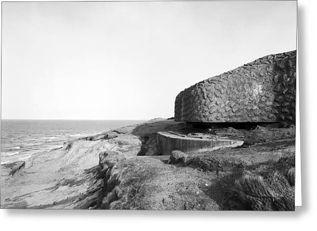 Dk Greeting Cards - Cammo Bunker Greeting Card by Jan Faul
