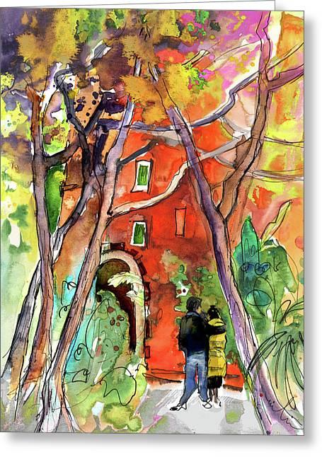 Camogli Greeting Cards - Camogli in Italy 15 Greeting Card by Miki De Goodaboom