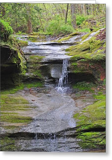 Camusfearna Gorge 1 Greeting Card by Peter  McIntosh