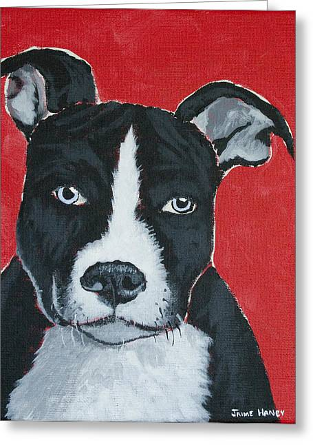 Can I Go Home With You Greeting Card by Jaime Haney